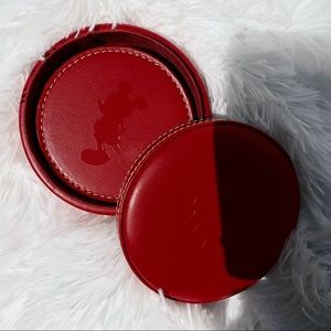Disney Mickey Mouse coaster set of four with case